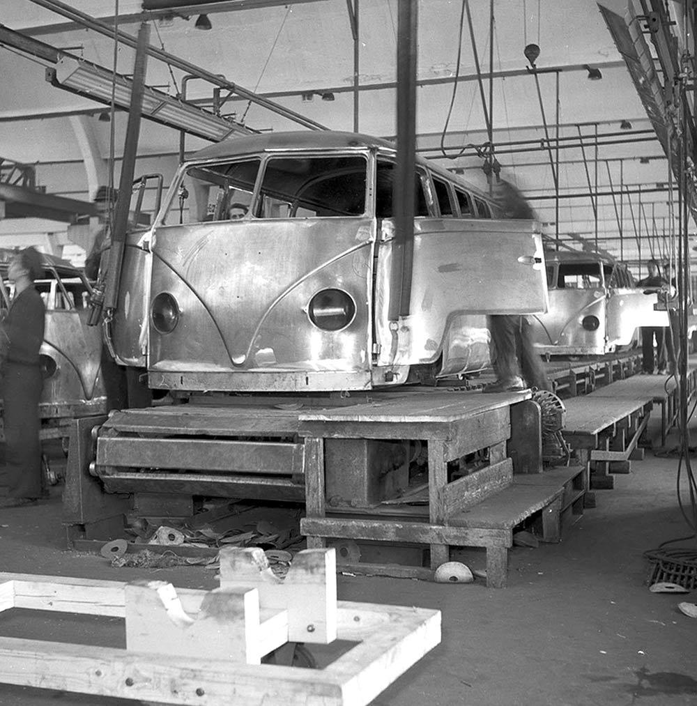 Typ 2 Transporter T1, 1953