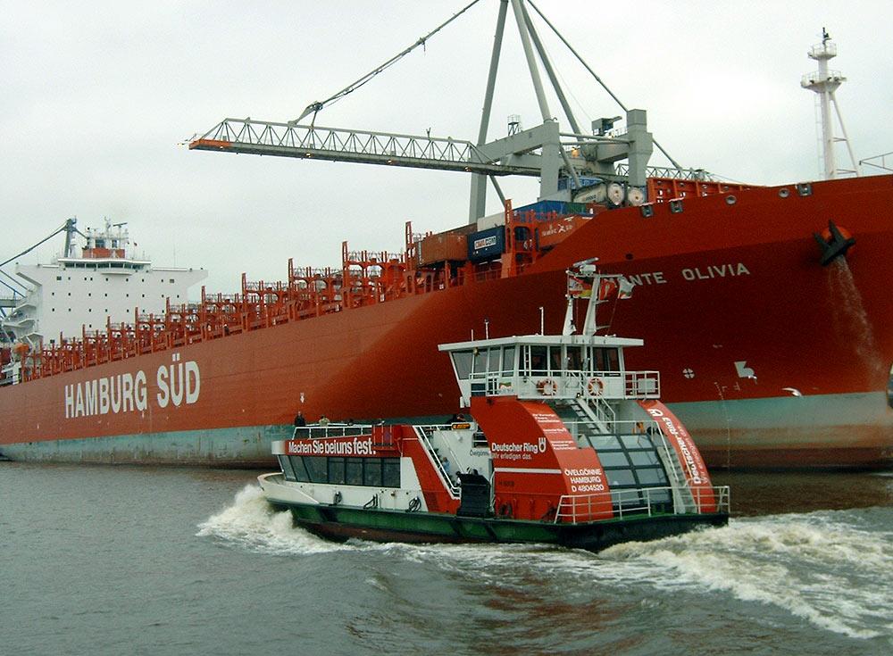 10 Jahre HADAG-Fährschiffe Typ 2000