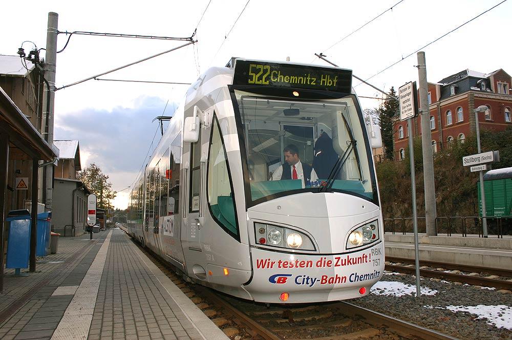 Citybahn Chemnitz Testet Die Zukunft
