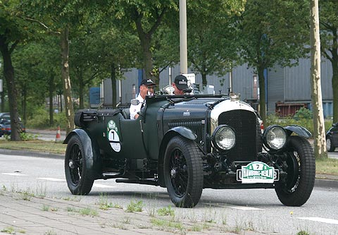 REFLEKTION.INFO - Bild des Tages:  BENTLEY 4 1/2 LITRE  LE MANS, 1927